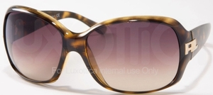 Ralph Lauren RL8001 Dark Havana with Brown Gradient Lenses